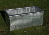 900MM (3FT) GALV. PADDOCK TROUGH