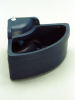 PLASTIC CORNER DRINKING BOWL WITH DRAIN PLUG