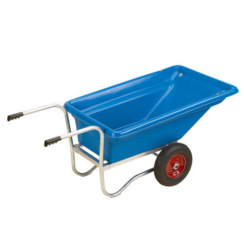 """STUBBY"" TWIN WHEEL PLASTIC BARROW"
