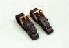 LEATHER BIT STRAPS (PAIR)